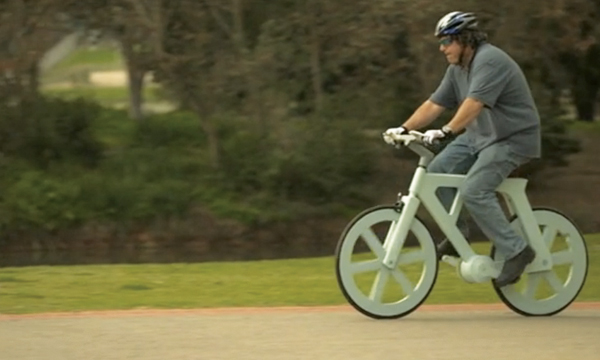 Paper Bicycle F