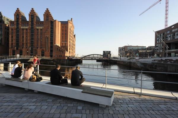 Hamburg: HafenCity, Brooktorkai