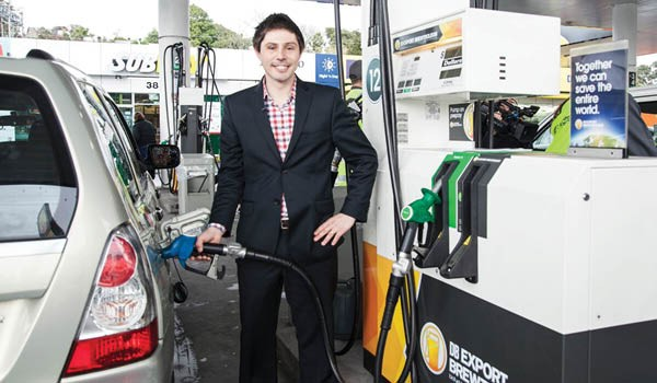 Green-MP-Gareth-Hughes-fills-first-car-NZ