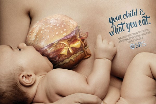 Babies-breastfeeding-on-junk-food-will-disturb-mums-to-be1-650x433