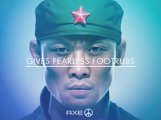 axe-gives-fearless-footrubs