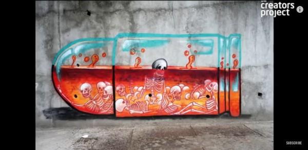 Street Artist Saving Generation 007